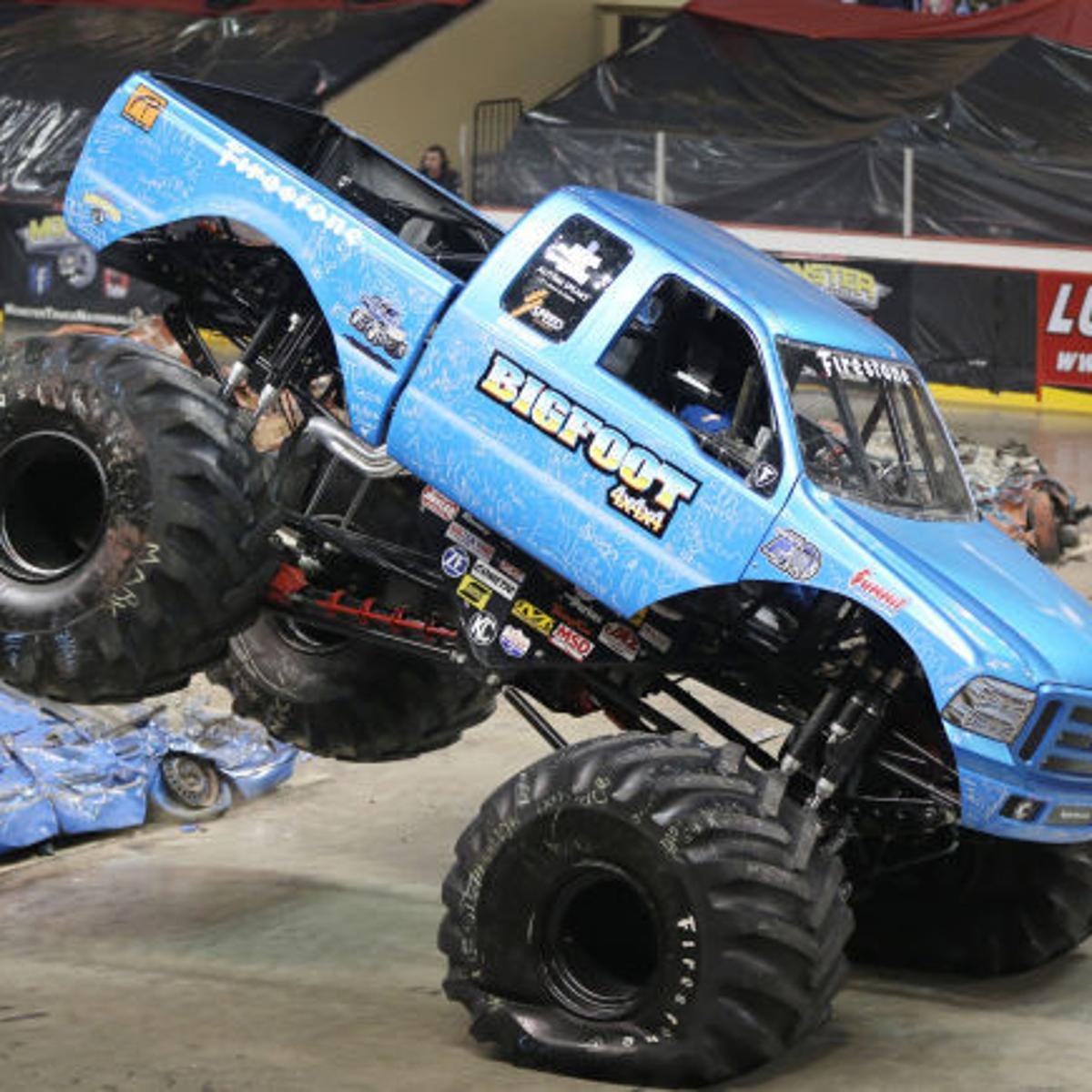 Tickets On Sale For Monster Truck Nationals At Tyson Events Center Local Briefs Siouxcityjournal Com