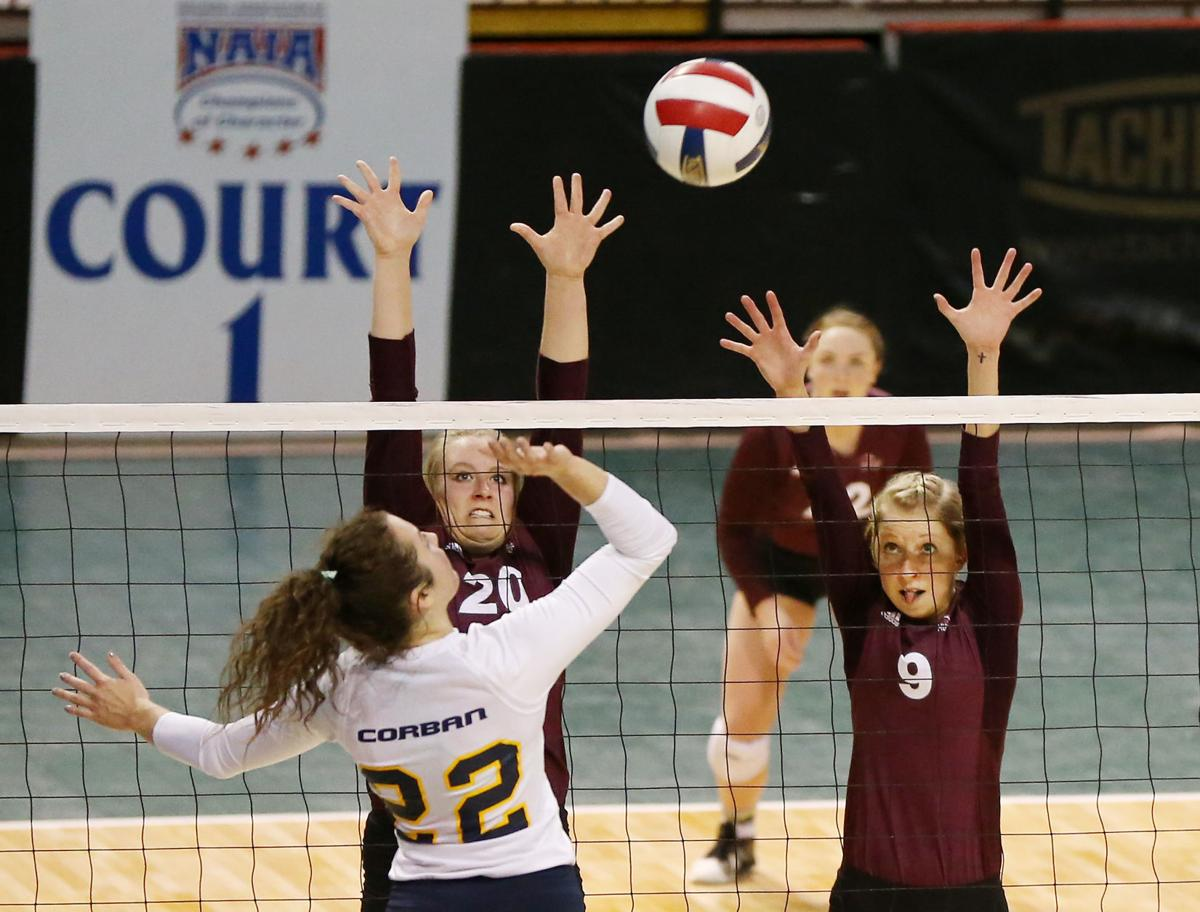 Morningside vs Coran NAIA volleyball