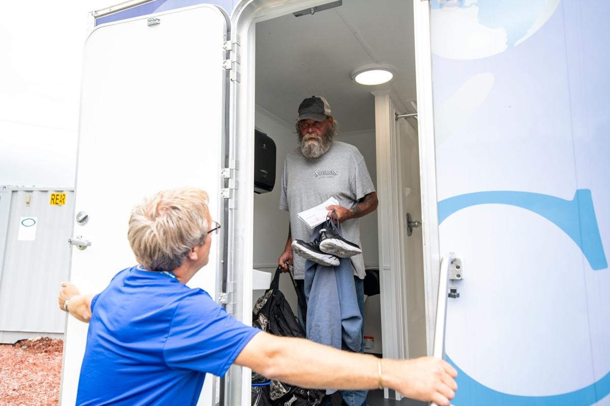 Mobile Showers for needy people