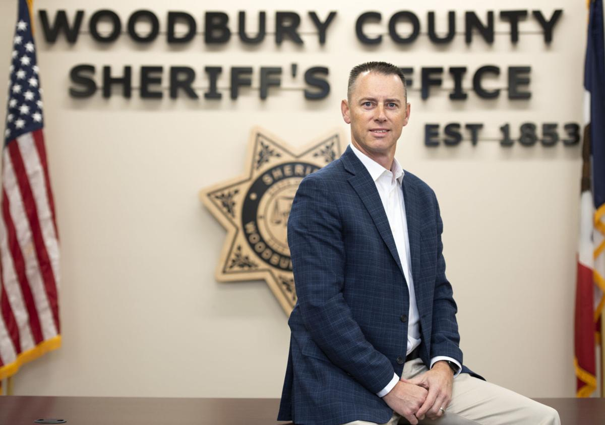 Incoming Woodbury County Sheriff Chad Sheehan