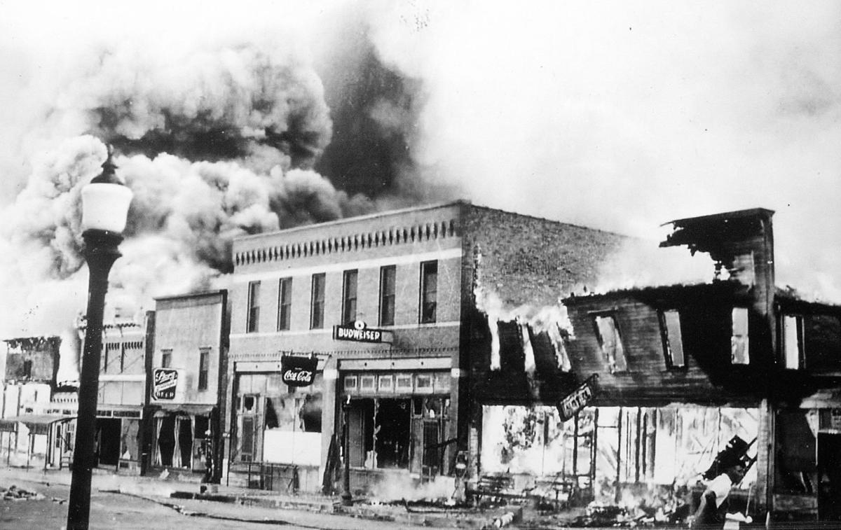 Remsen Historic Fire