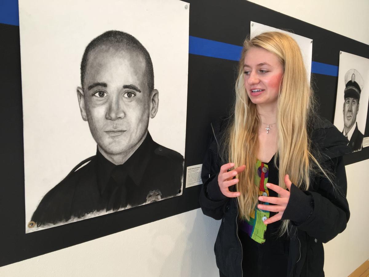 Jaycee with Billa portrait