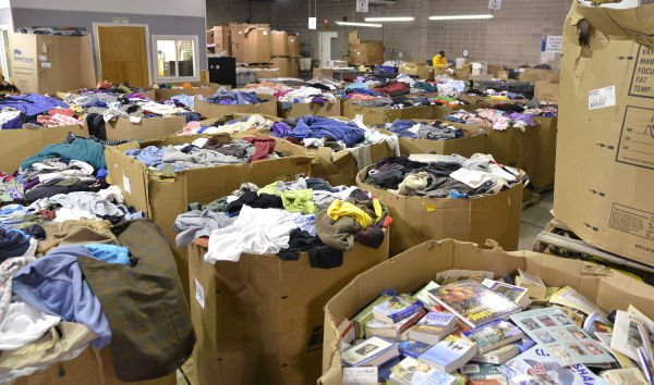 Goodwill of the Great Plains retail recycling program
