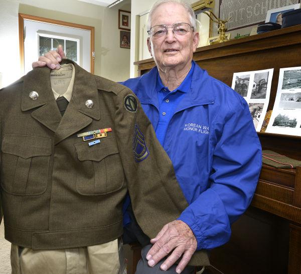 Korean War veteran Dick Leitschuck