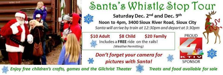 Santa's Whistle Stop Tour