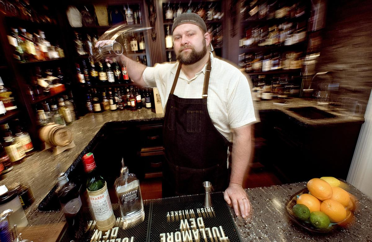 Food bartender Austin Foster