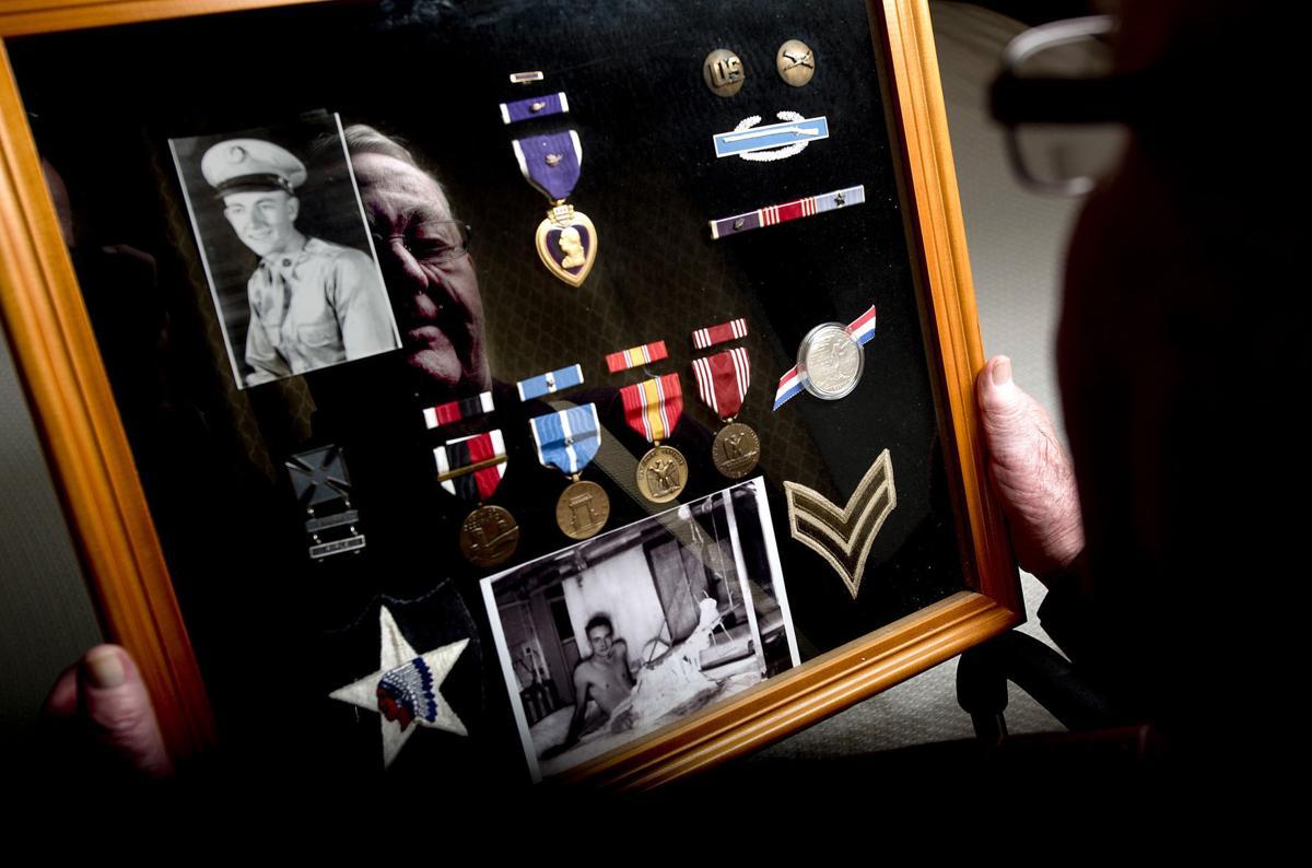 Korean War veteran Marvin Schmidt