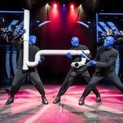 Blue Man Group hitting the Orpheum Theatre stage without saying a word