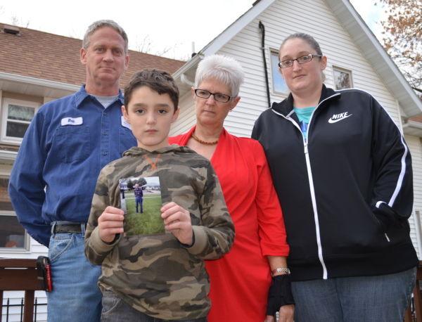 Dale Robinson's family