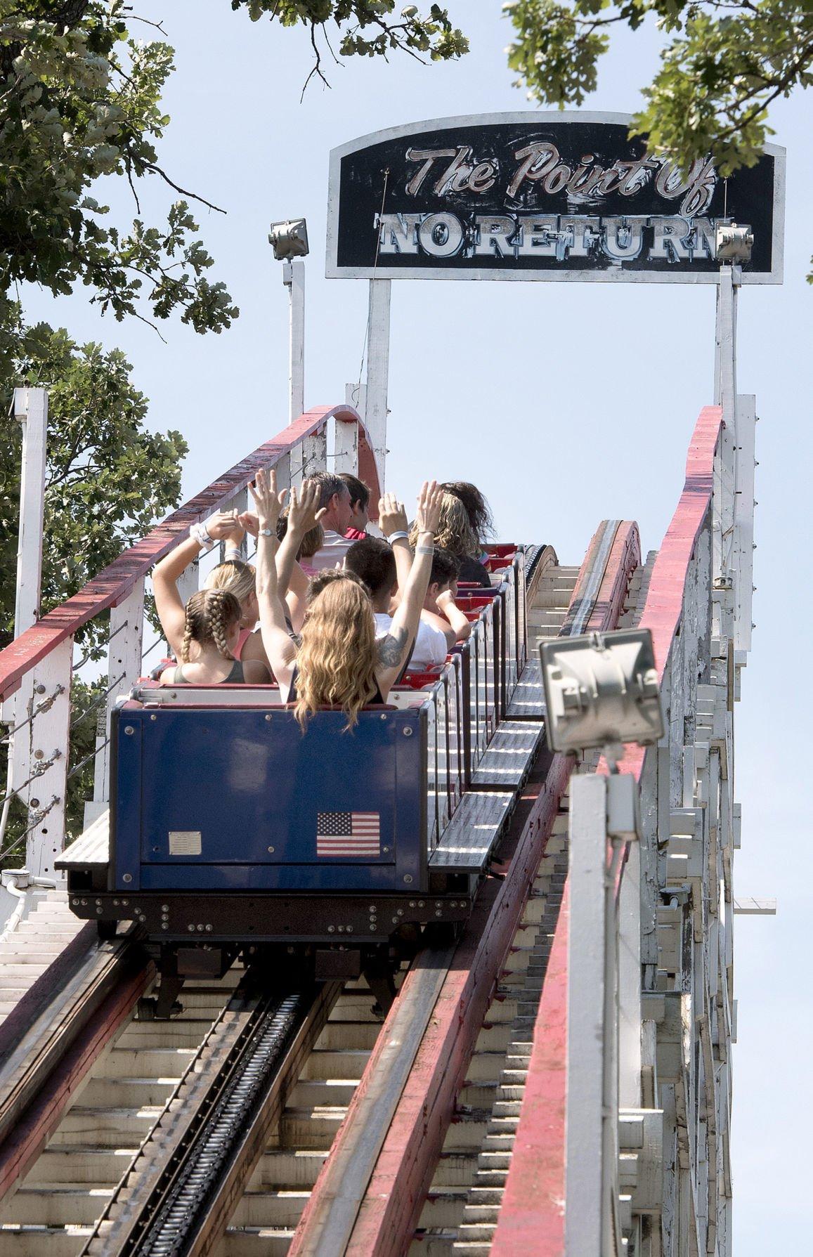 Arnolds Park Amusement Park