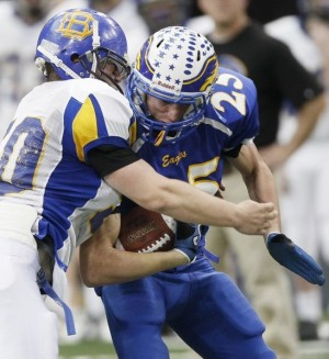 Eagles win first state football title ever : High School