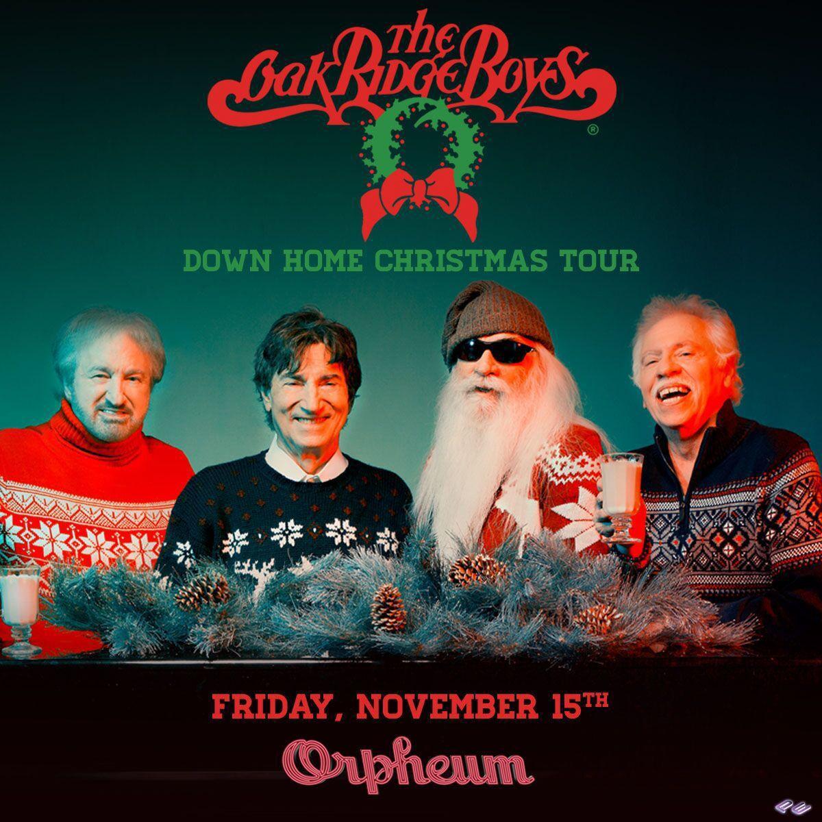 Oakridge Boys Christmas Tour Iowa 2020 The Oak Ridge Boys to bring 'Down Home Christmas Tour' to Sioux