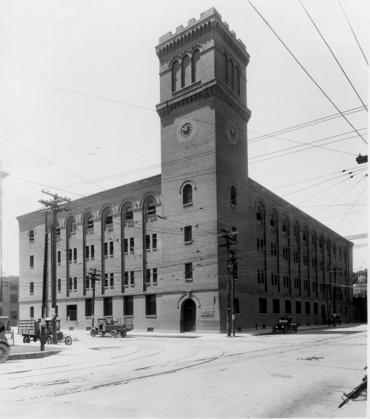 Battery Building 1900s