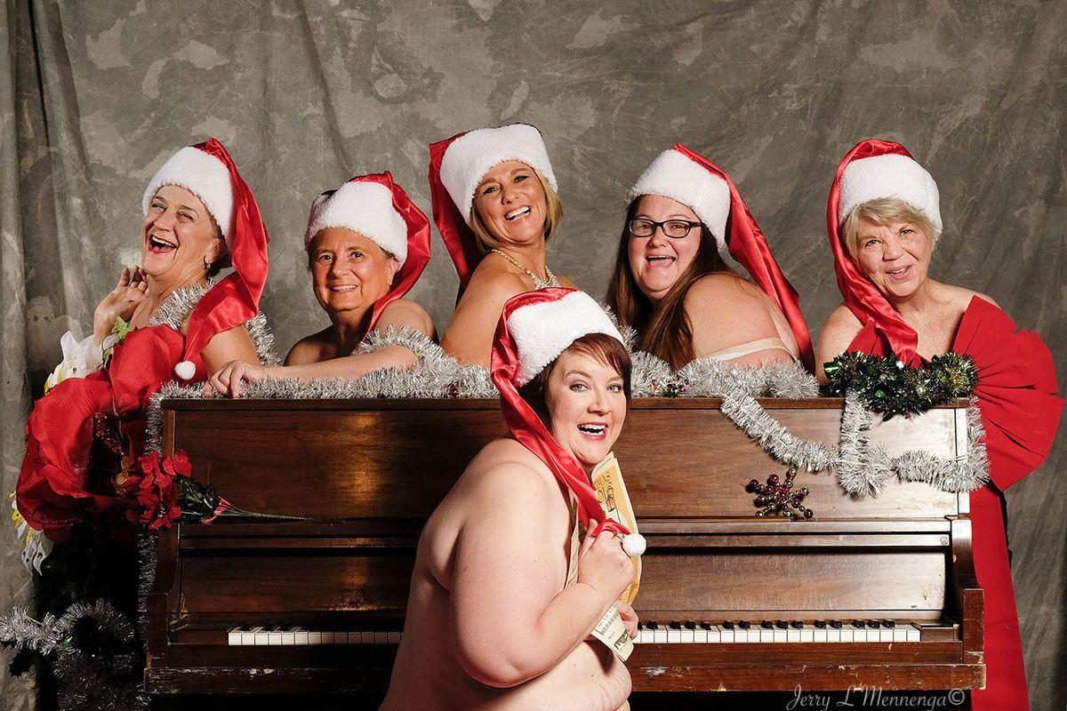 Havering ladies bare all for cheeky charity calendar