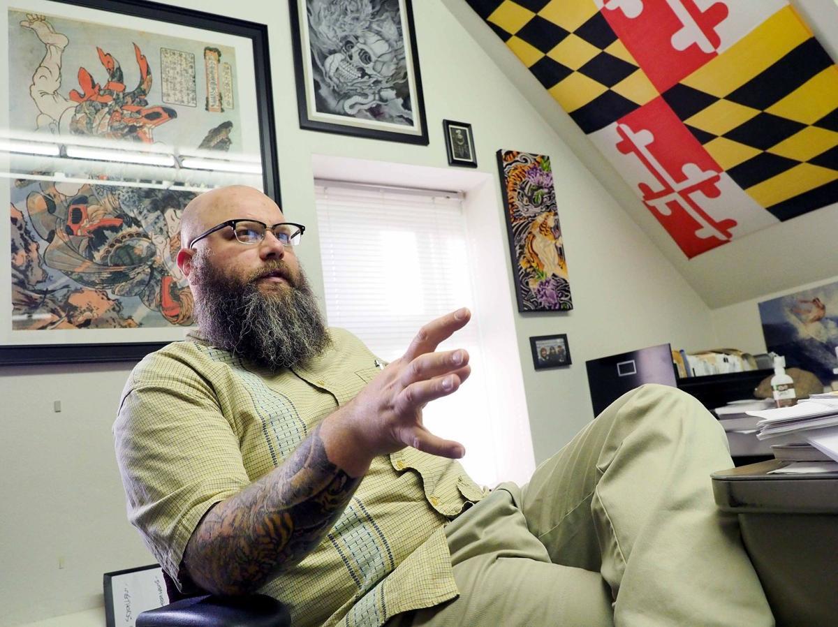 Tattoo Professor David Lane