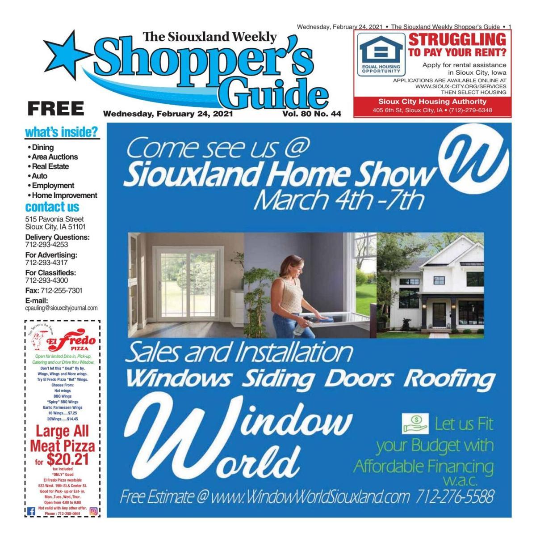 Shopper's Guide - February 24, 2021