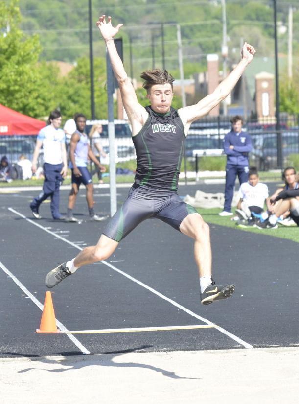 Michael Duax long jump