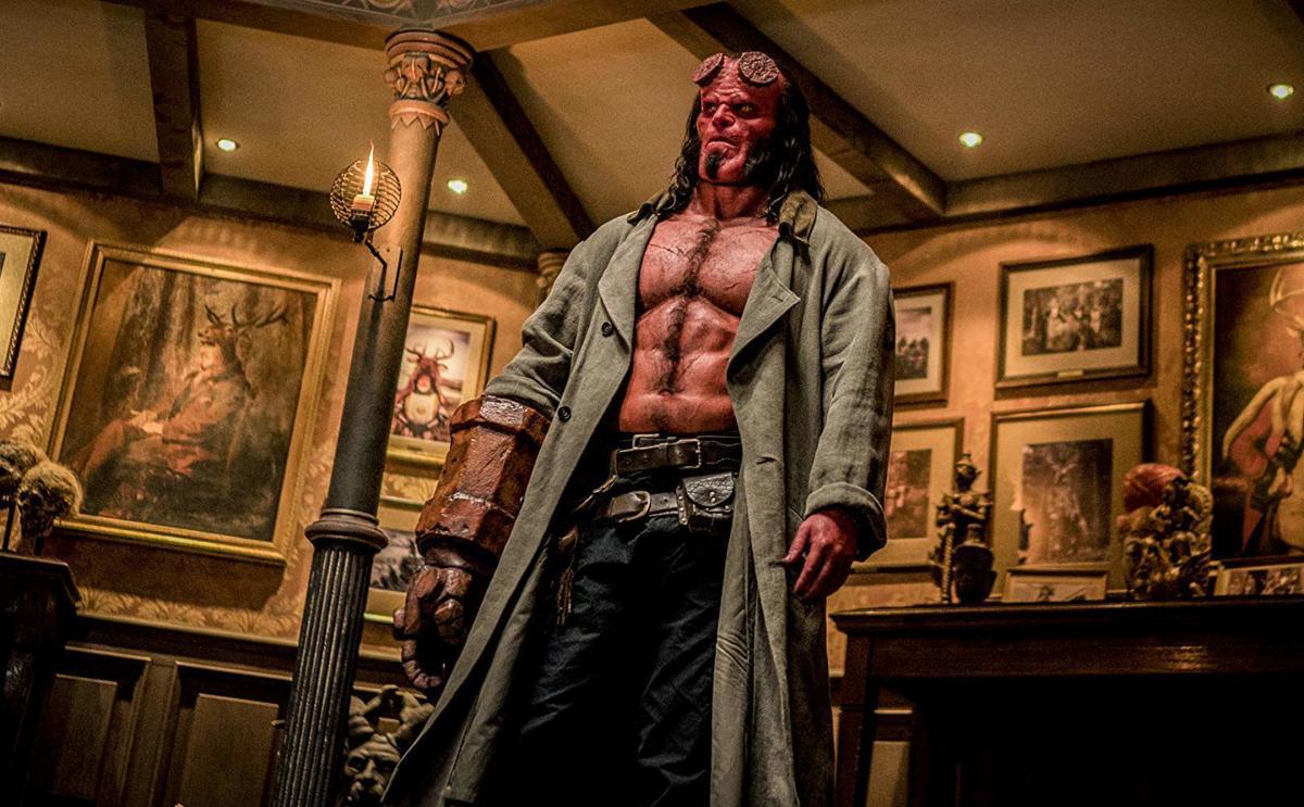 Hellboy scene