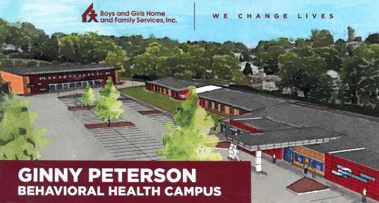 Ginny Peterson Behavioral Health Campus rendering