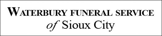 Obit-Waterbury Funeral Home logo