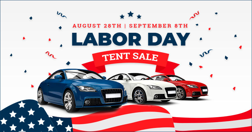 Labor Day Tent Sale