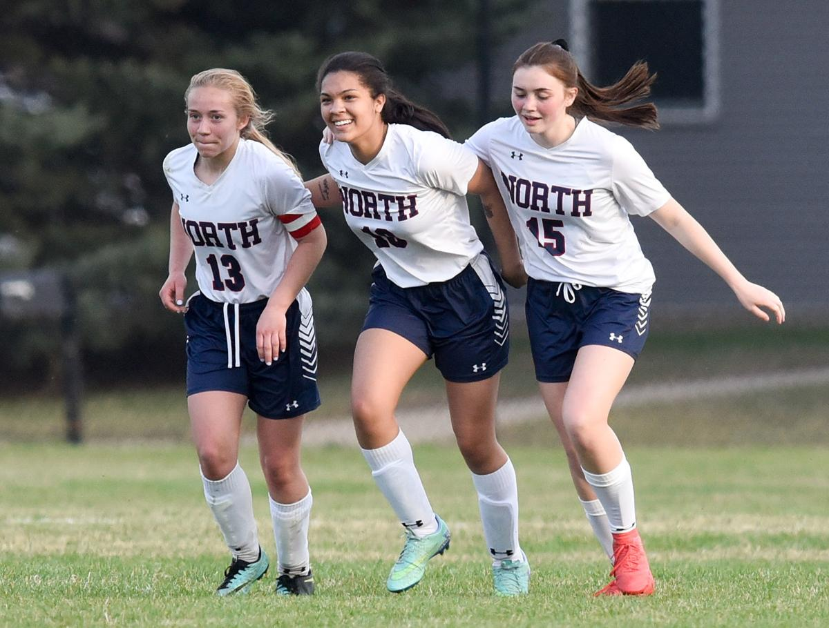 North soccer beats East on Hailee Enoch's game-winning goal