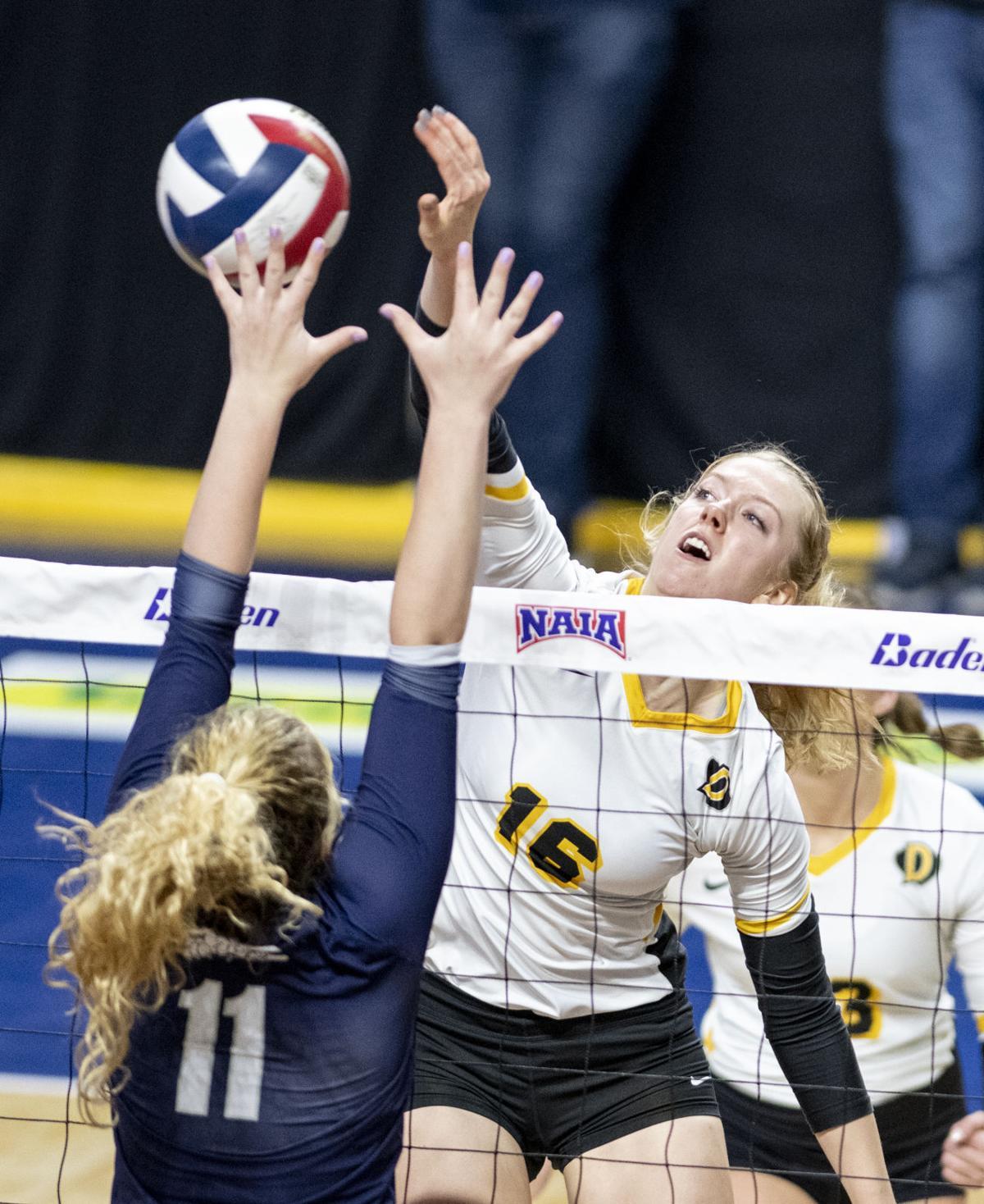 Volleyball Concordia vs Dordt NAIA