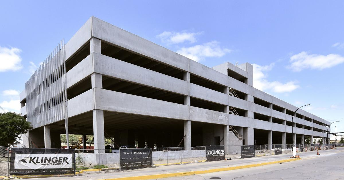 Hard Rock Hotel & Casino parking ramp