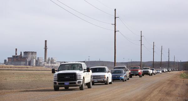 CF Industries traffic