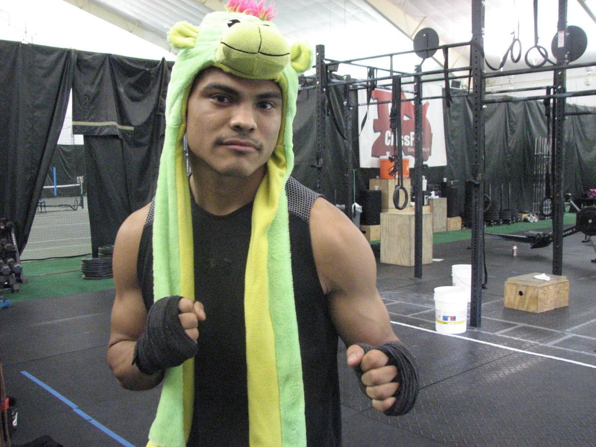MMA fighter drako rodriguez