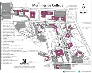 Morningside College Campus Map.Summary Morningside College
