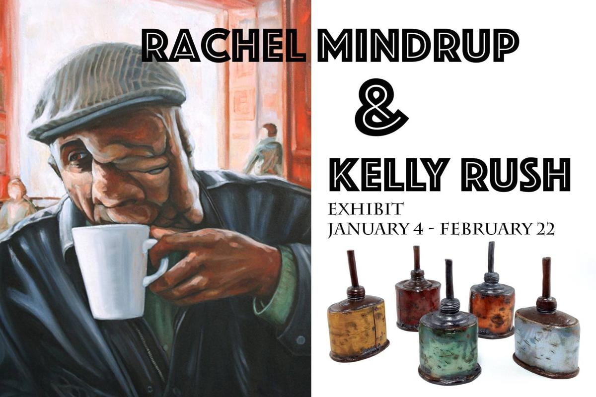 Rachel Mindrup and Kelly Rush Exhibition