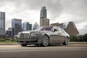 2021 Rolls-Royce Ghost.