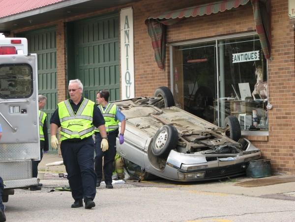 Lewis Boulevard crash 4-3-12
