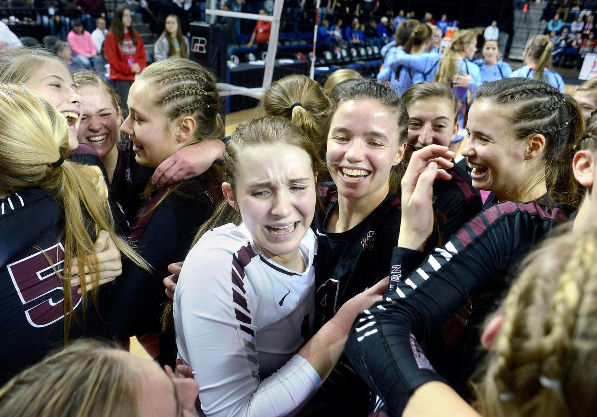 (Best Reaction) Iowa State Volleyball 2A Unity Christian vs. Western Christian