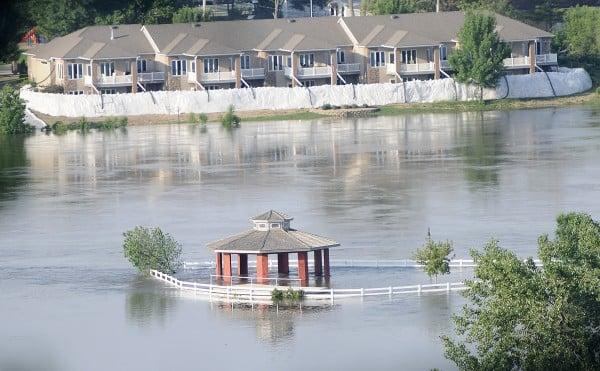 Missouri River flooding 06-06