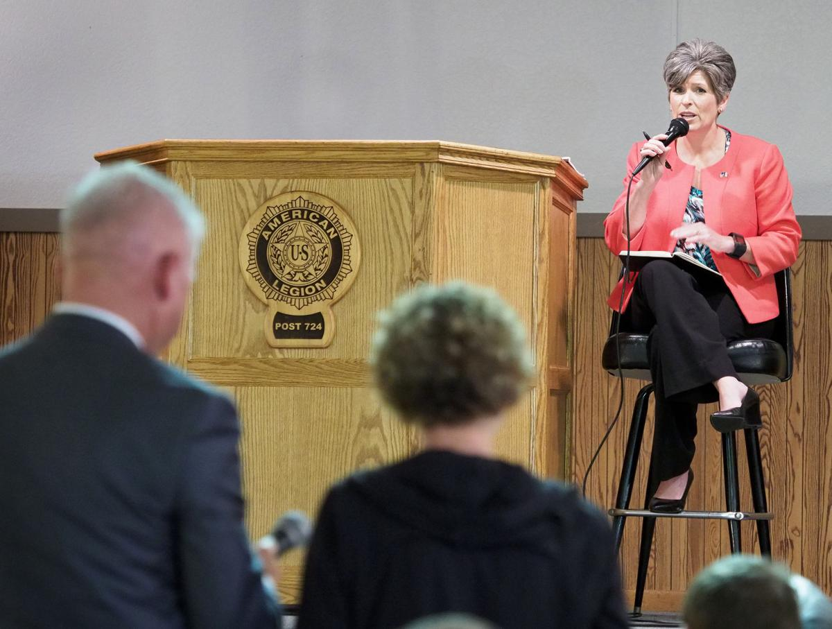 Senator Joni Ernst town hall meeting