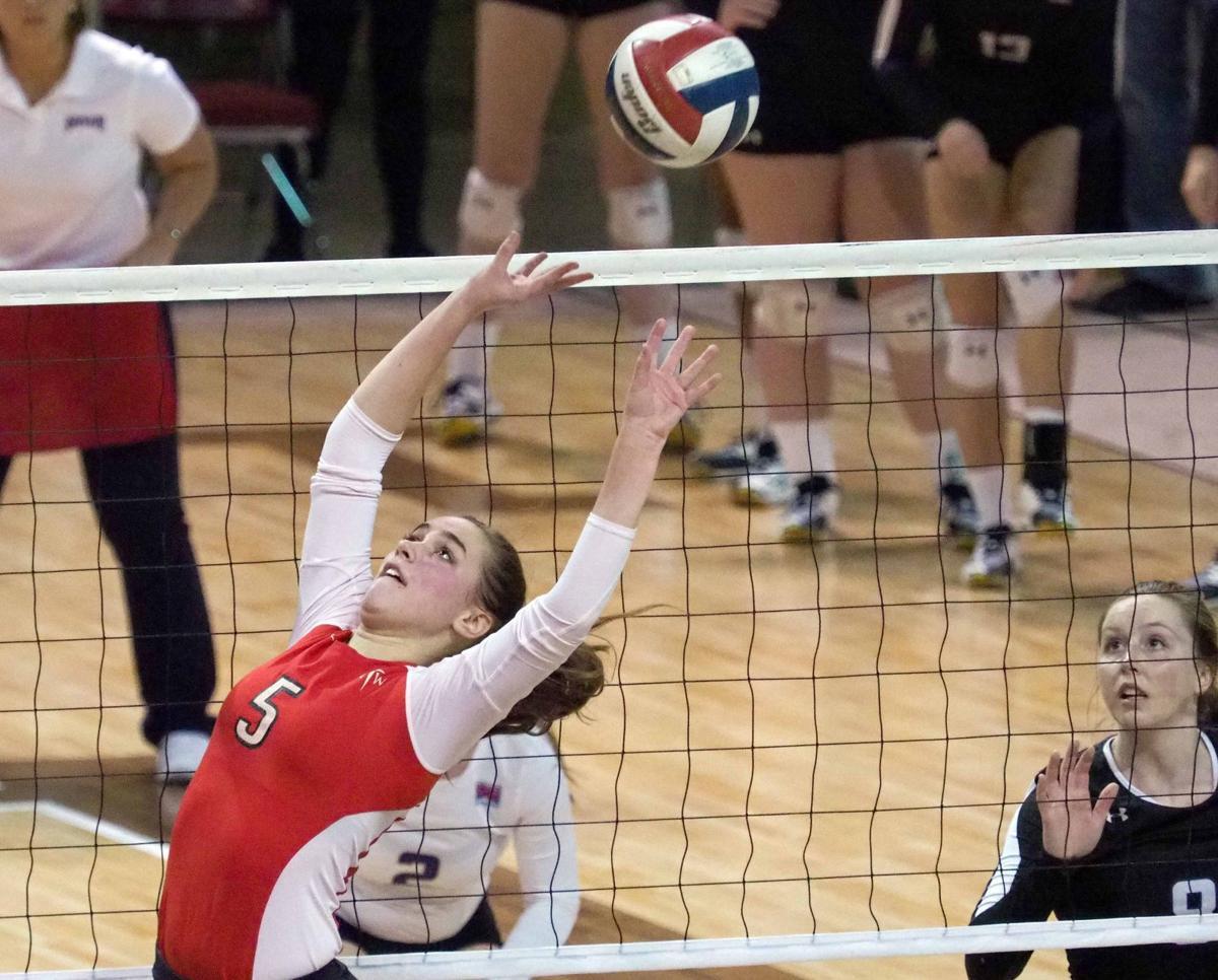 Northwestern vs College of Idaho NAIA volleyball