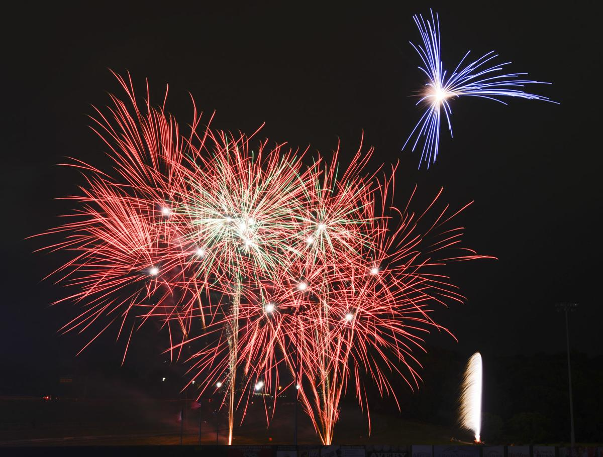Fireworks in Sioux City