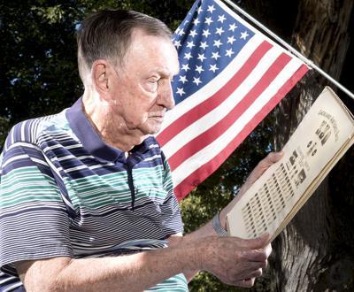 Korean War veteran Doug Hussey