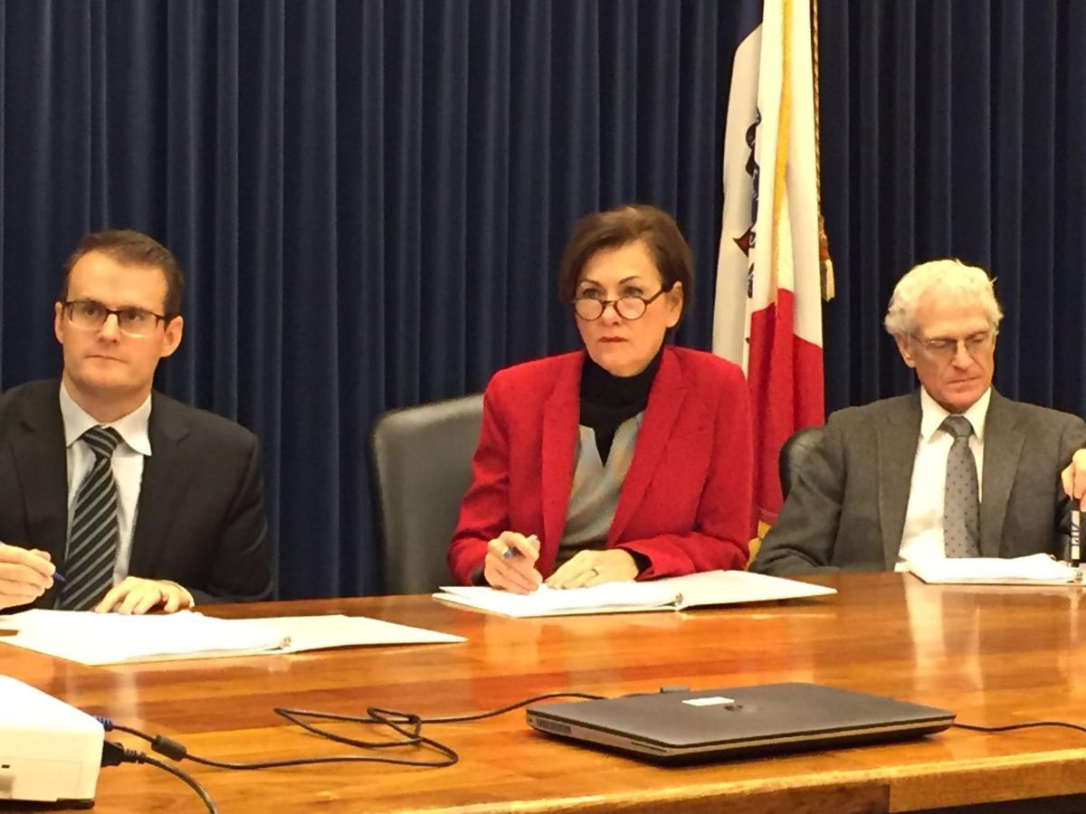 Iowa state budget hearings