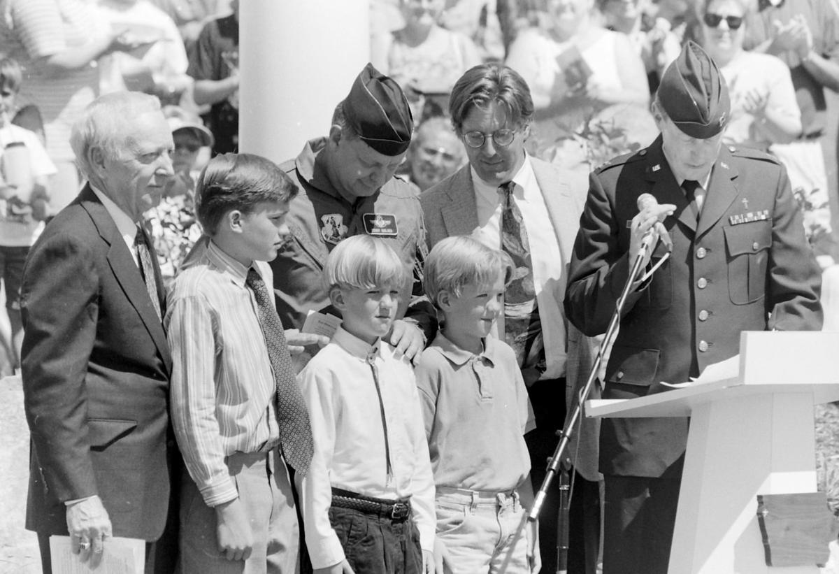 232 memorial dedication, 1994