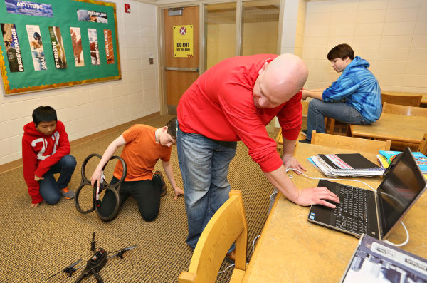 technology integration at West Middle School