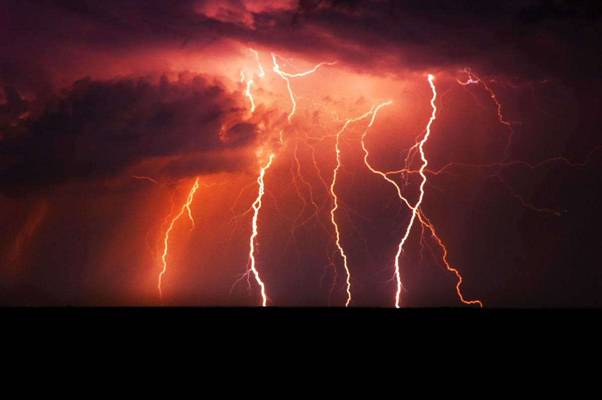 LightningStorm wipes out power to thousands Tuesday night   Local news  . Red Alert Lightning Storm. Home Design Ideas
