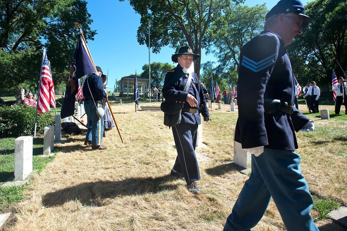 Civil War Graves Rededication