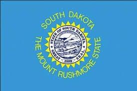 south dakota stock flag