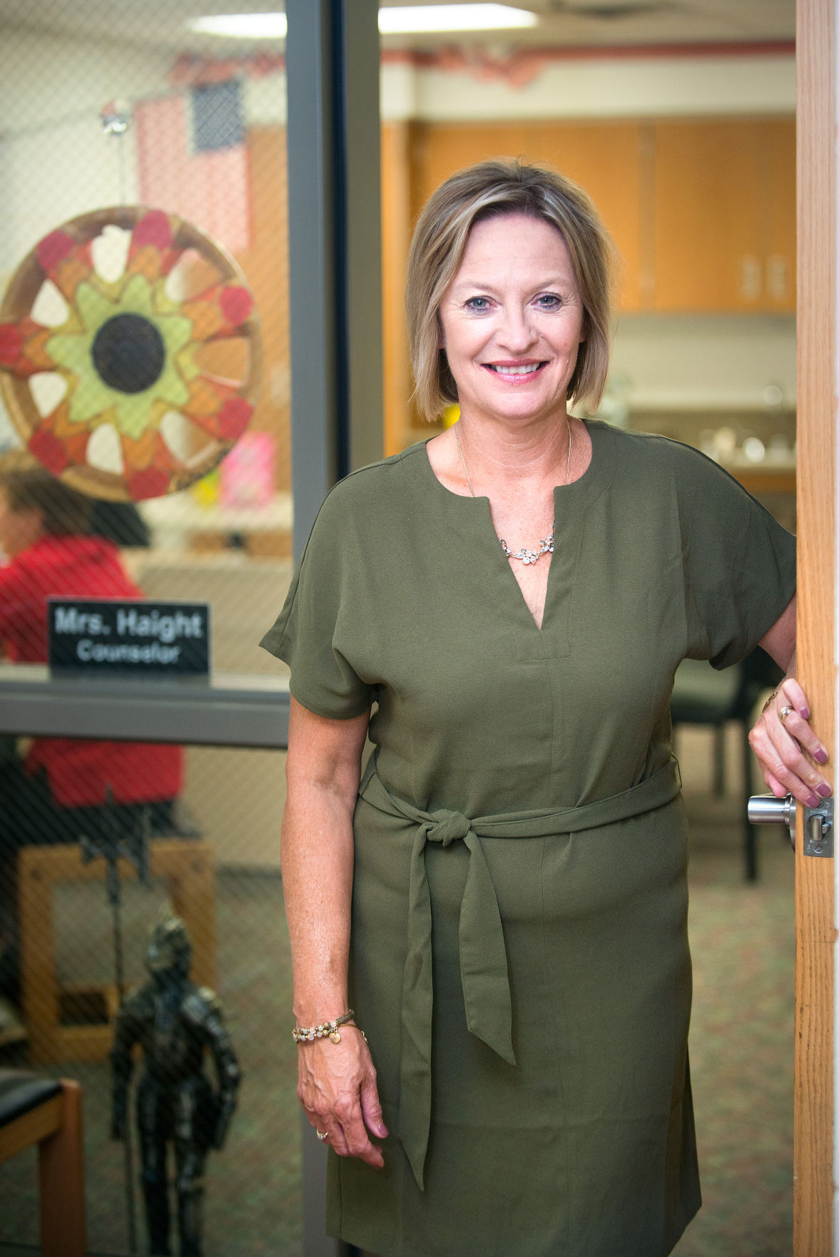 School Counselor Gail Haight