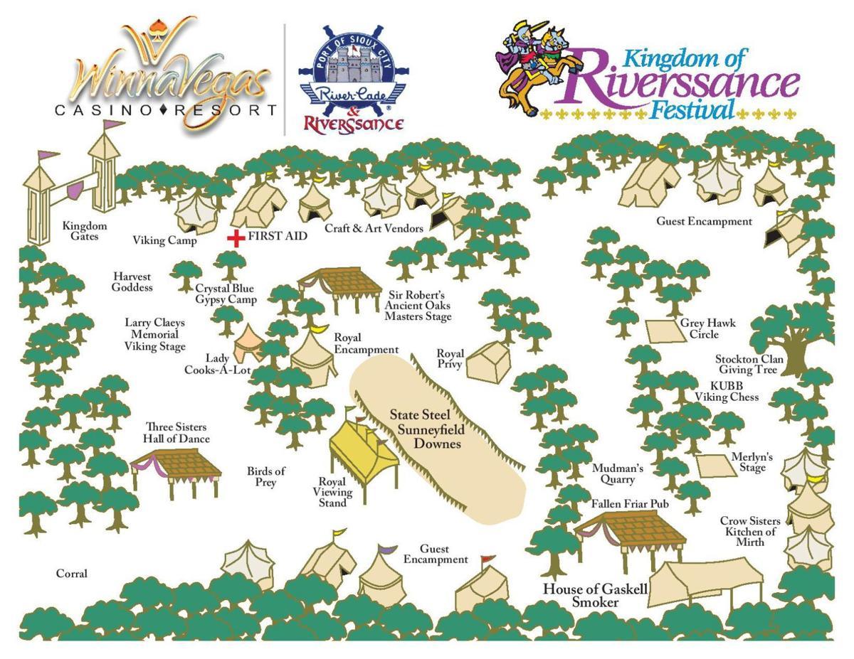 2019 Riverssance map