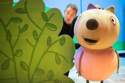 Daddy Pig' says live-action Peppa Pig show is fun for all