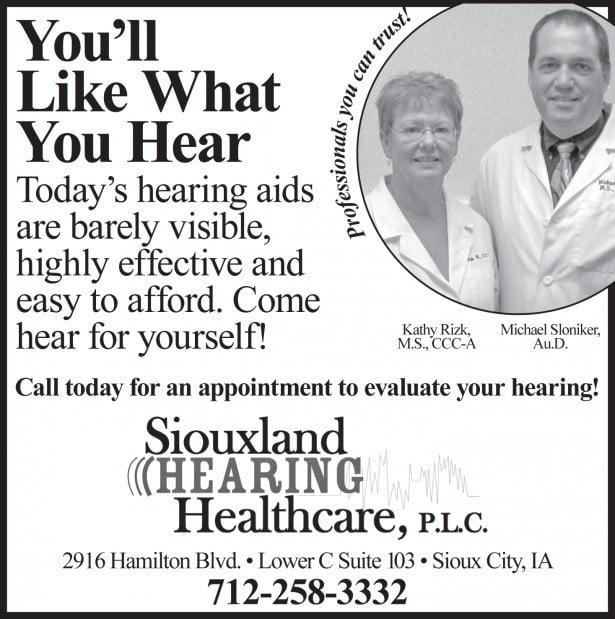 You'll like what you hear!
